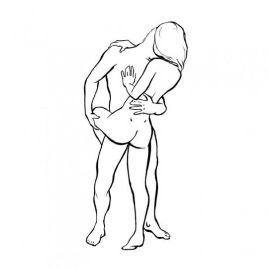 """Ако си стресирана –––> Имала сте натоварен ден в офиса? Кажи на мъжа до теб да те чака направо вкъщи готов и желаещ. Още от вратата съвсем спокойно можете да се впуснете в поза """"балерина"""".Тази поза е достатъчно лесна и може да бъде практикувана на почти всяко място. А положението на телата помага това да се случи бързо, лесно и игриво. А нека бъем честни - от това се нуждаете след ужасния ден на работа. Пробвайте я под душа, така ще стимулираш всички нервни окончания и притока на кръв."""