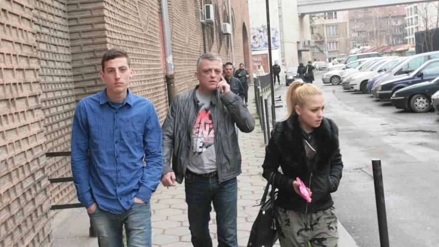 Бисер Миланов-Петното в ареста, пребил жена