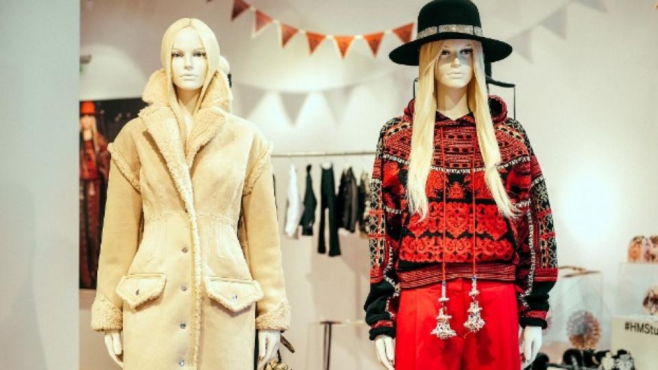 Шведският фолклор вдъхнови колекция есен/зима на модния бранд H&M