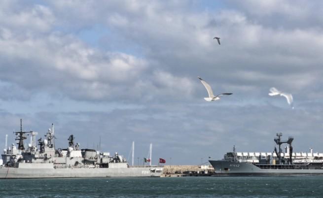 Идеята за флотилията срещу Русия - турска
