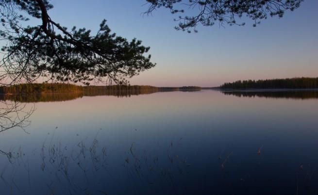 Езеро в Карелия
