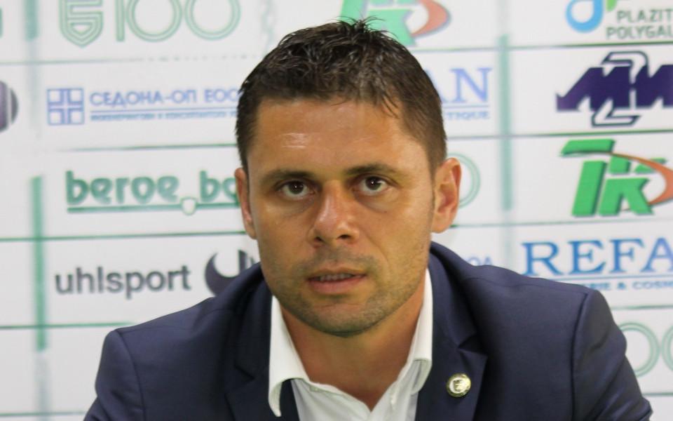 Селекционерът на младежкия национален отбор Александър Димитров говори преди заминаването