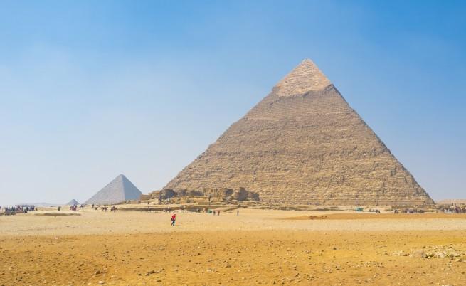 Хеопсовата пирамида е изкривена, египтяни са допуснали