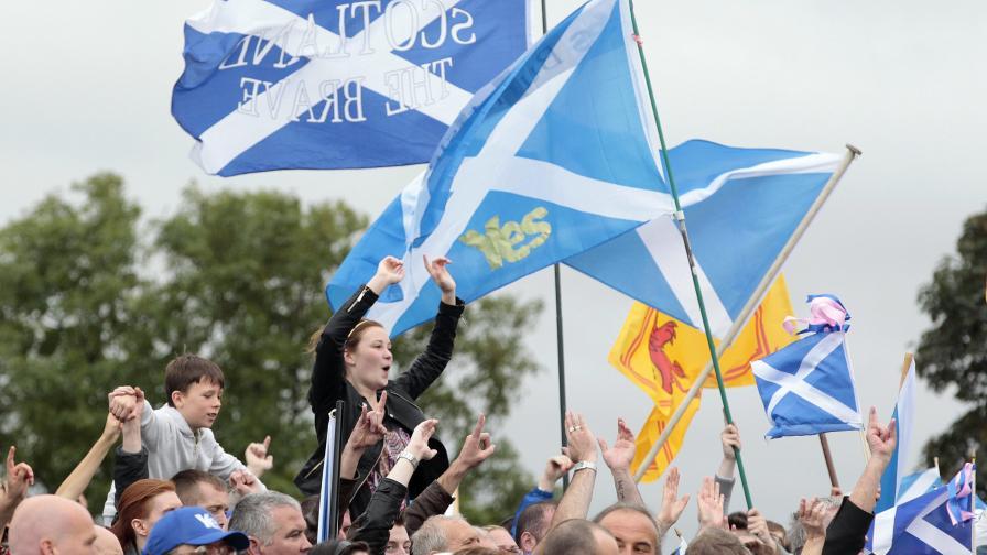 Лондон не позволява на Шотландия да се върне в ЕС