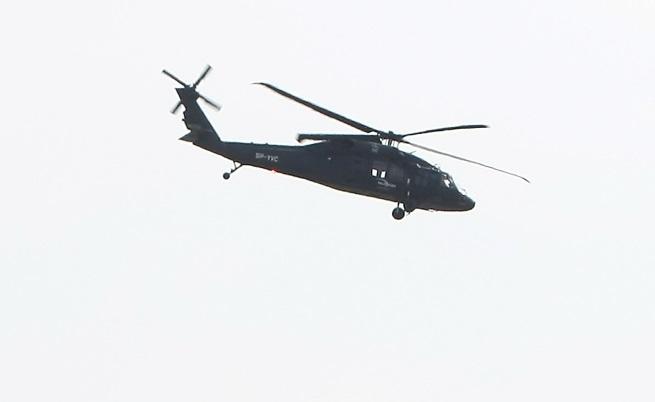 Инцидент с военен хеликоптер у нас