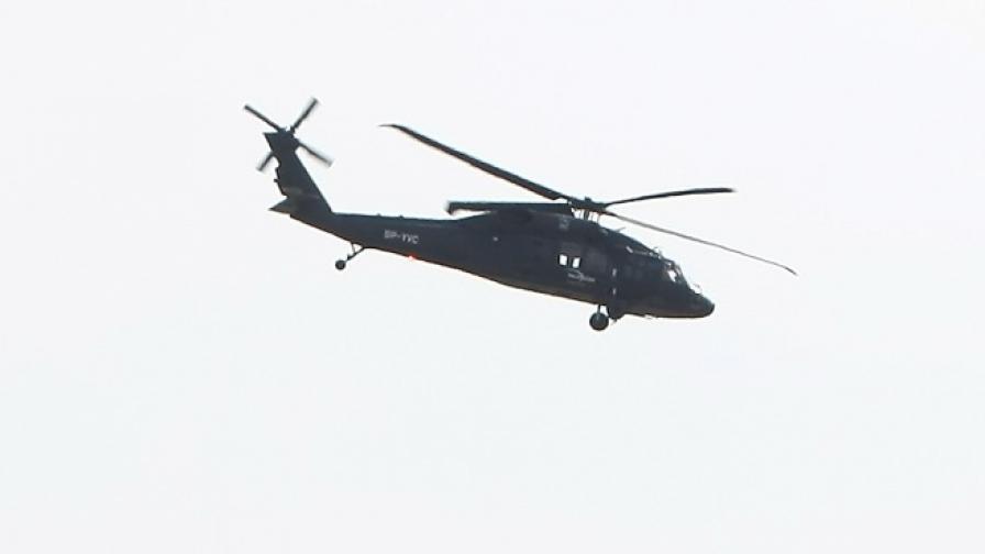 Военен хеликоптер се разби в Турция