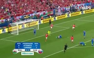Голът на Хал Робсън-Кану срещу Словакия