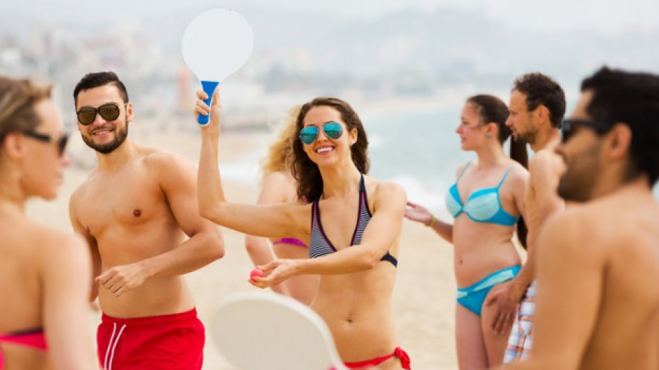Плажен тенис – новата спортна страст