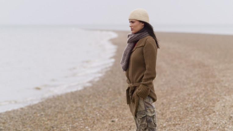 плаж размисъл самота зима