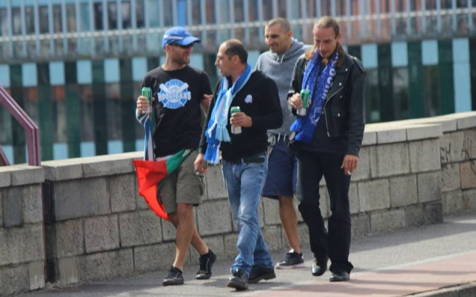 Фотоспомен от Словения в очакване на мача с Марибор