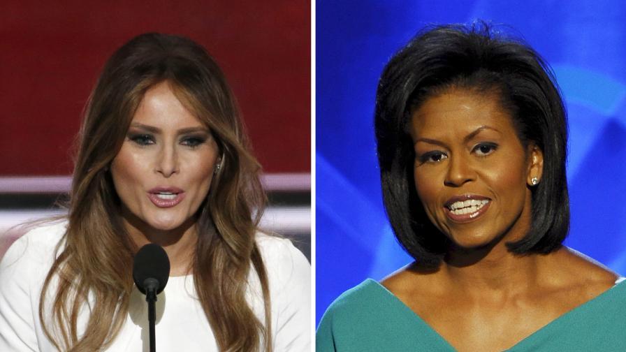 Интернет преля от подигравки към жената на Тръмп