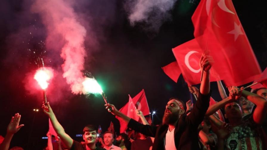 Германия: Ердоган подкрепя ислямисти и терористи