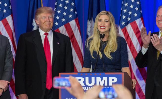Красива и умна, Иванка Тръмп е любимата дъщеря на Доналд Тръмп.