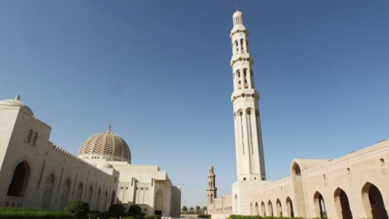 Оман Маскат Голямата джамия на султан Кабус