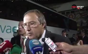 Дерменджиев: Влязохме през парадния вход на Лига Европа, но искаме Шампионска лига