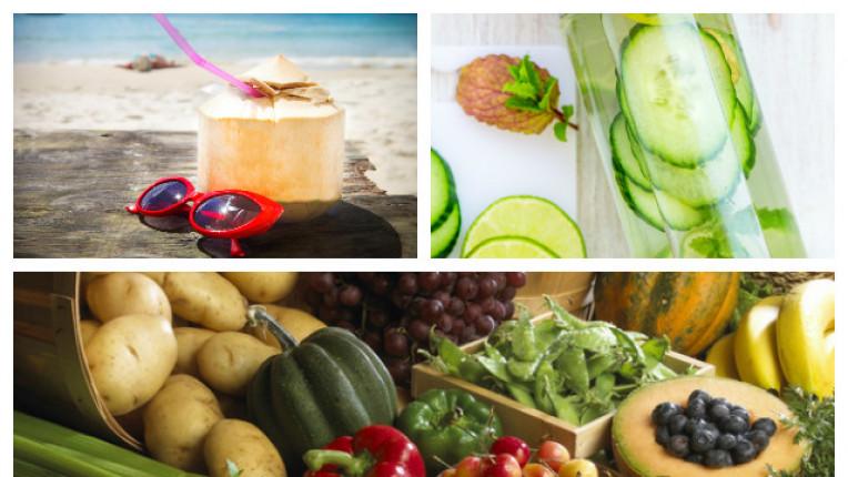 електролити здраве храна