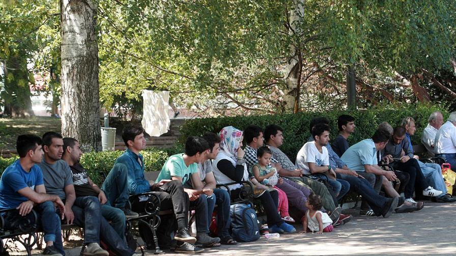 Софиянци: Бежанците се облекчават на улицата, правят поразии