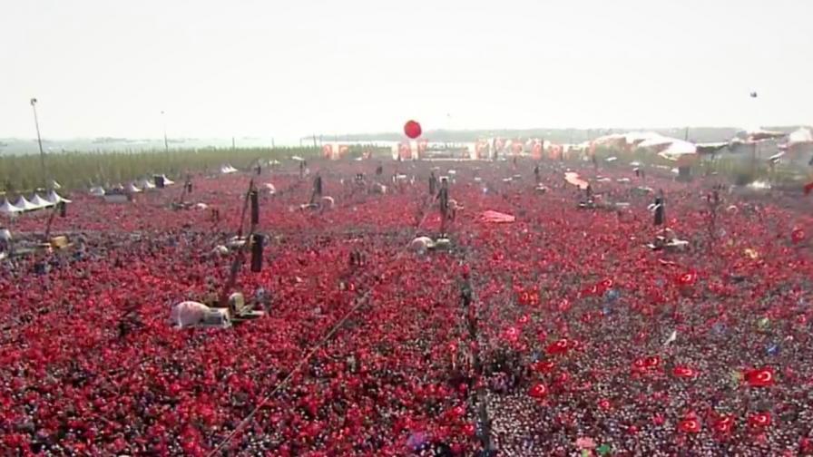 Ердоган, нареди ни да умрем и ще го направим!