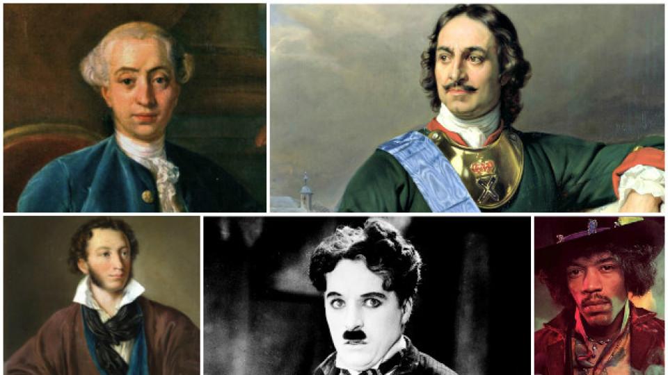 Най-великите мъже любовници в историята
