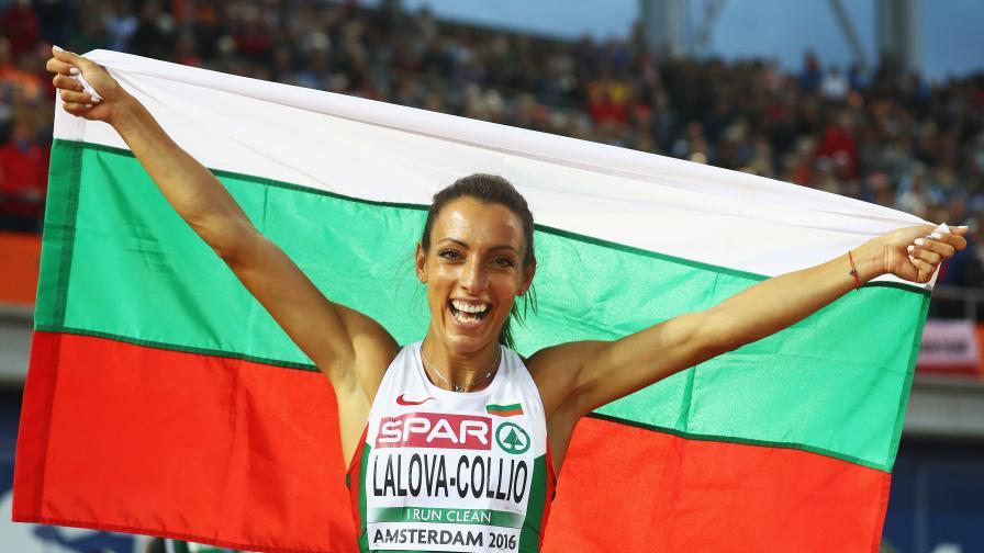 Най-бързата българка - Ивет Лалова (видео и снимки)