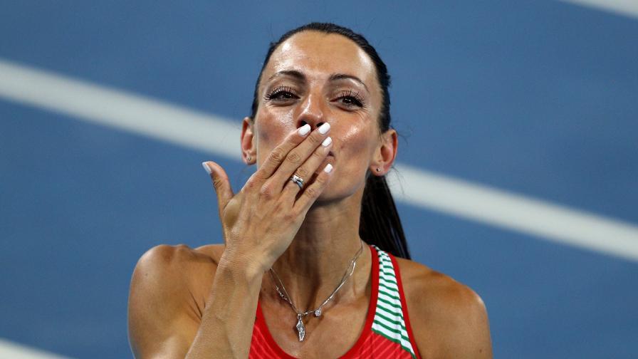 Ивет Лалова: Плаках преди финала на Олимпиадата