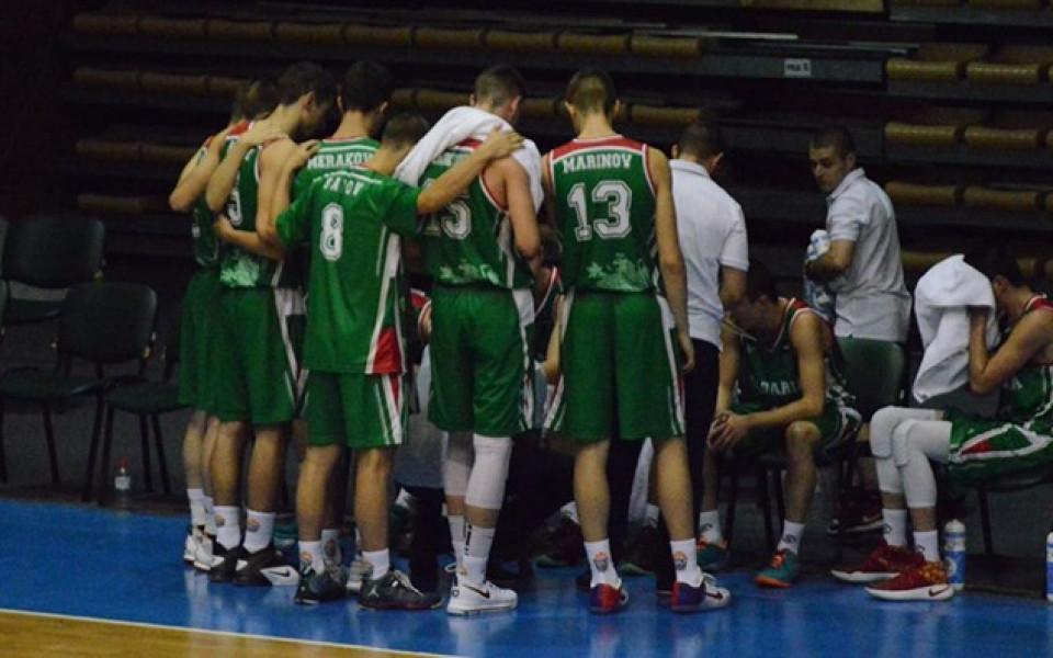 Баскетболните кадети разбиха Украйна в контрола