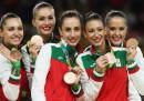 Българският ансамбъл с медалите си