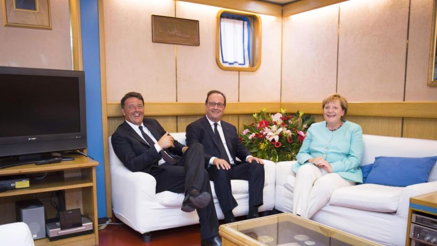 Меркел иска повече сигурност, Германия се готви за война