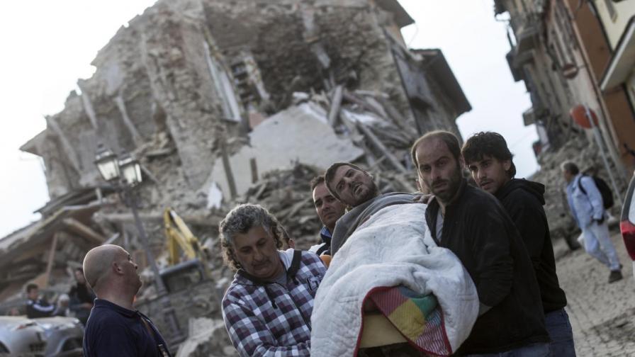 Поне 120 са загиналите след труса в Италия