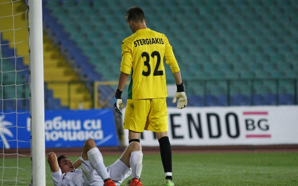 Изключително признание за качествата на младия вратар на Славия Антонис