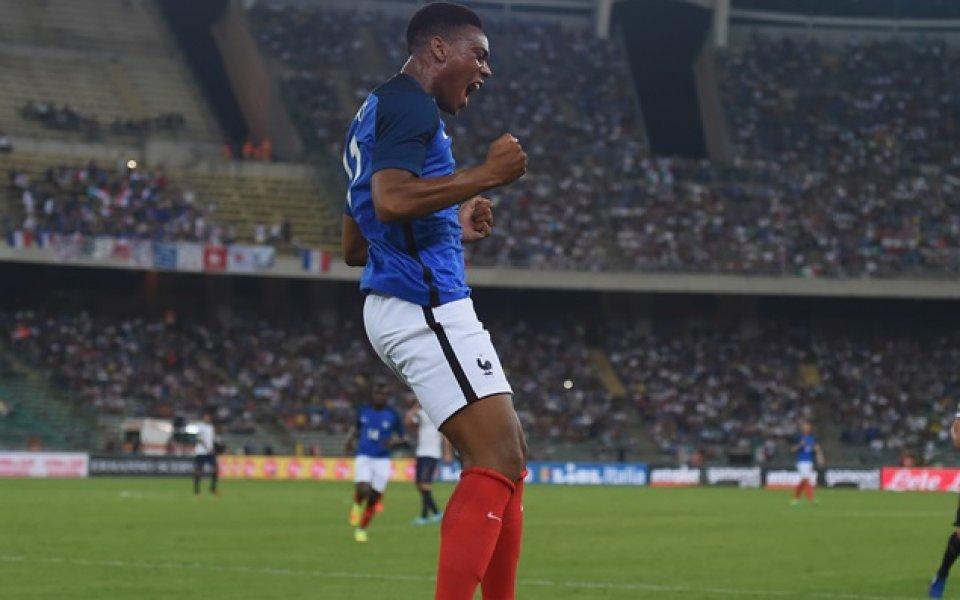 Марсиал се завърна в състава на Франция за мачовете с Холандия и Уругвай