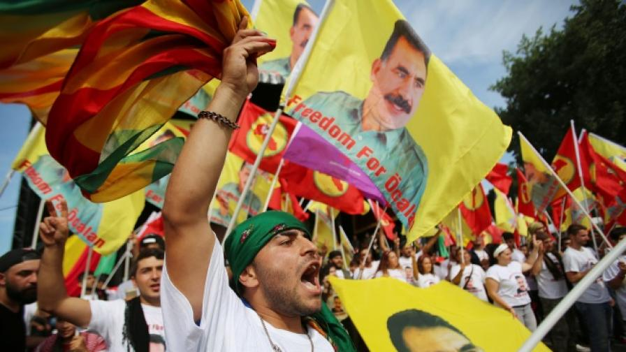 Хиляди кюрди протестираха срещу Ердоган в Кьолн
