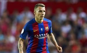 Лука Дин: Искам да остана в Барселона