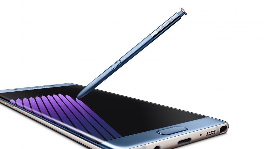 Samsung ограничава зареждането на Note 7, за да не експлодира