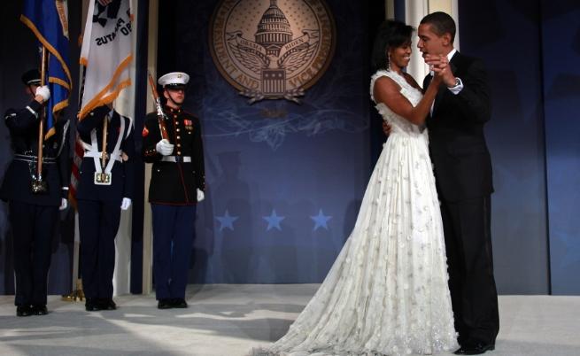Барак и Мишел Обама