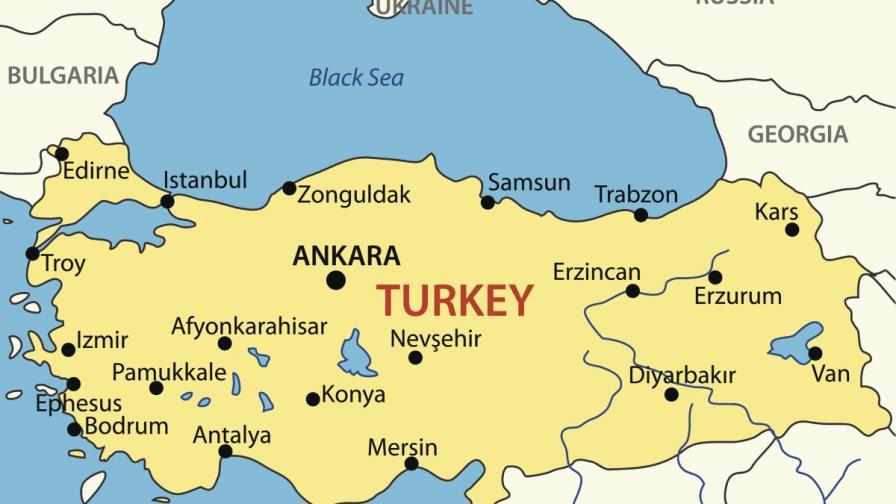 Голяма експлозия в турския град Ван (видео)