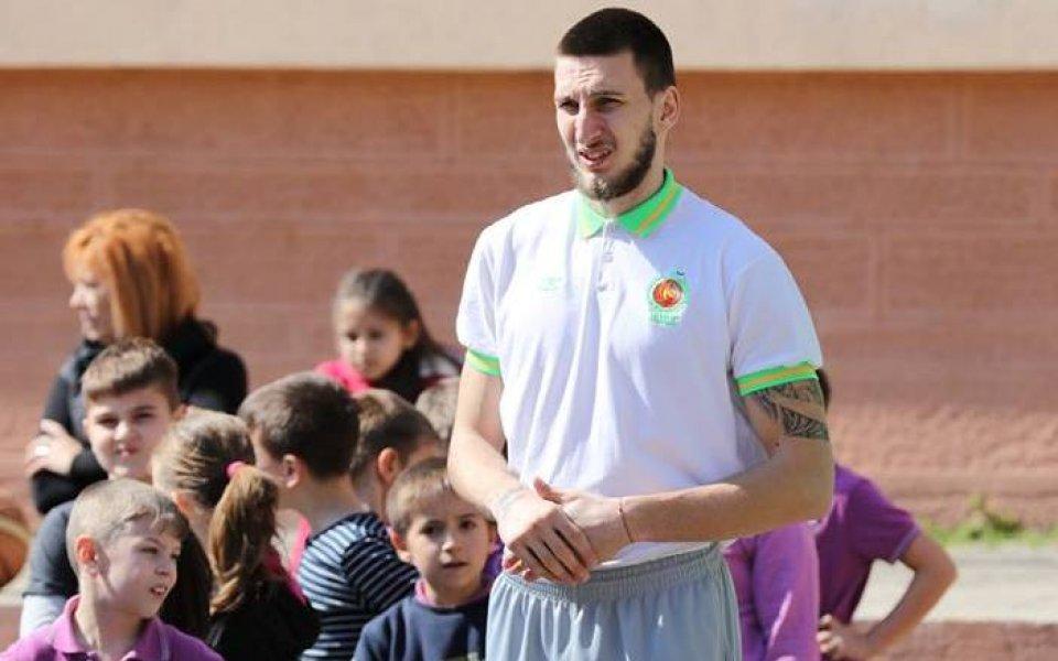 Баскетболистите на Берое се включват в откриването на учебната година