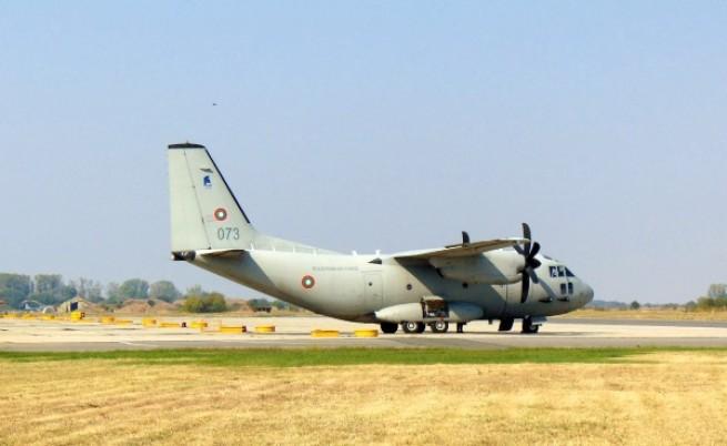 """""""C-27J Спартан"""" е военнотранспортен самолет от среден клас"""