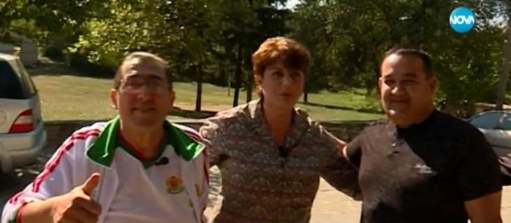 Диана Найденова с кандидатите за президентството