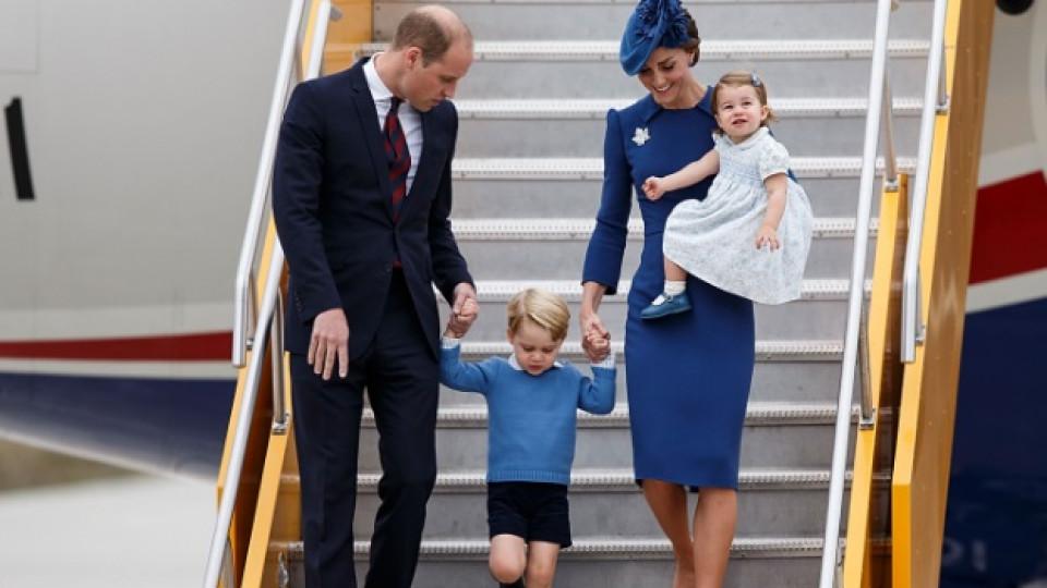 Кейт, Уилям, Джордж и Шарлот: кралско очарование в Канада