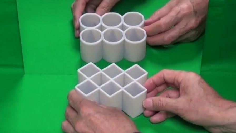 Илюзията, която обърка всички - какво е на снимката