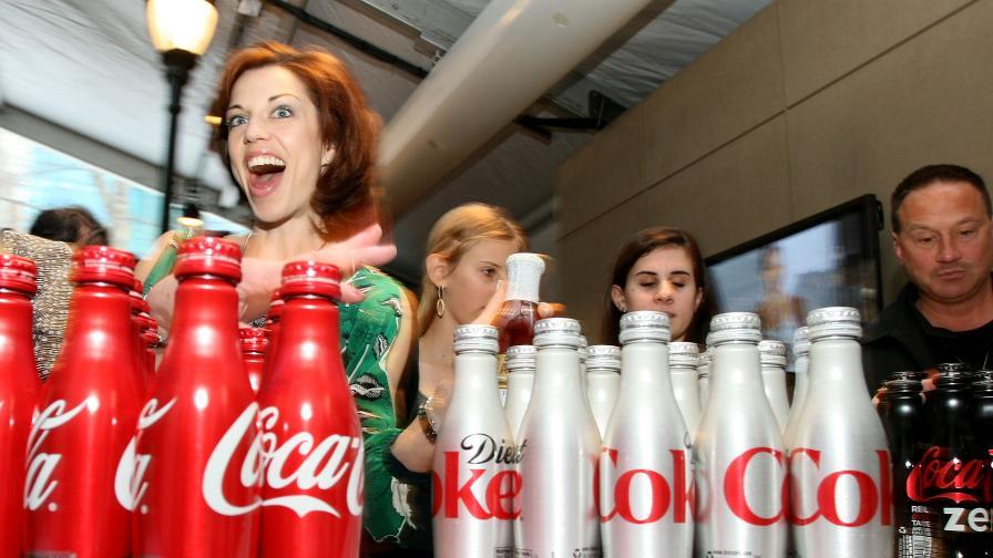 Кока-Кола с революция - прави женска бира