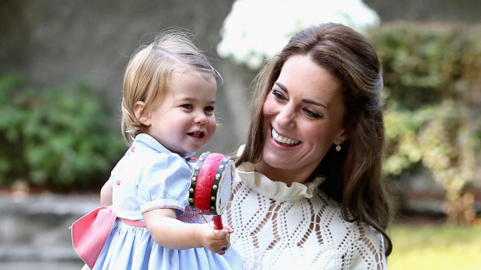 Очарователната принцеса Шарлот става на 2 години днес!
