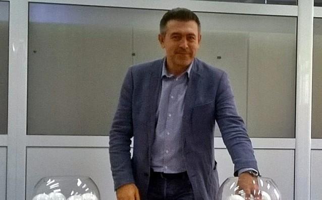 Новият директор на женското първенство Валентин Помаков<strong> източник: volleyball.bg</strong>
