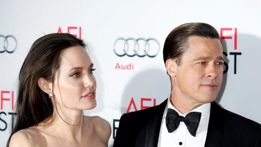 Анджелина Джоли и Брад Пит в щастливите дни