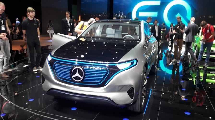 EQ е новият бранд на Mercedes за електромобили