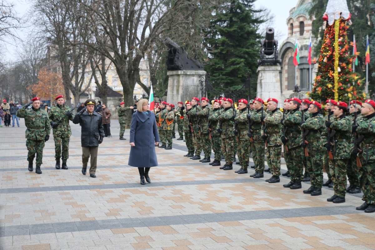 10 декември 2015, честване в Плевен на 138 години от Плевенската епопея и освобождението на града