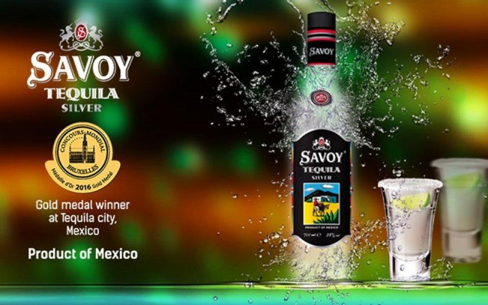 Мексико позлати текилата на Savoy