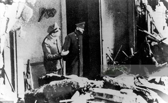 Последната снимка на Хитлер. 28 април 1945 г.