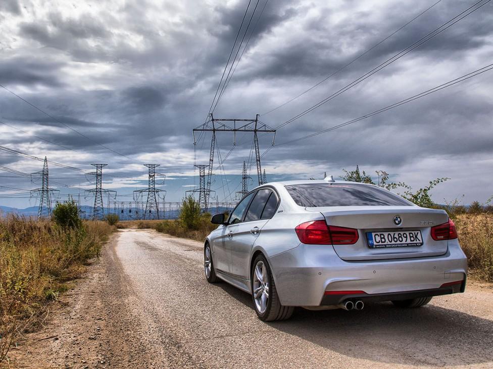 - BMW 330e тест драйв